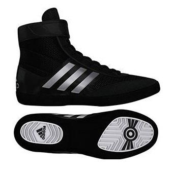 adidas Combat Speed 5 in Black/Silver/Black