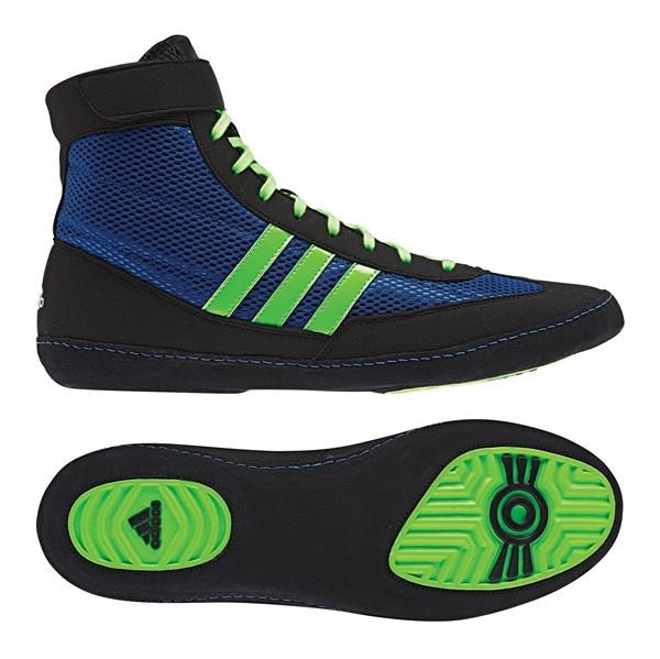 adidas Combat Speed IV in Bahia Blue Lime Green Black af4fe99a5